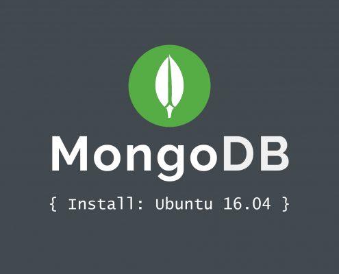 Como instalar MongoDB en Ubuntu 16.04