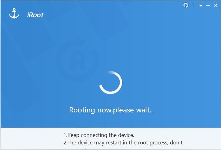 Realizando proceso de rooteo