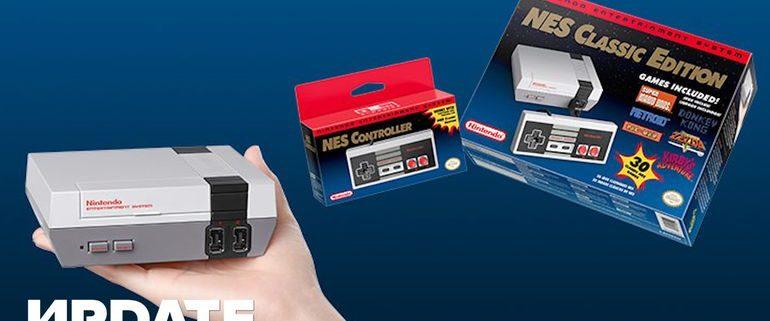 NES Classic MINI usa Linux