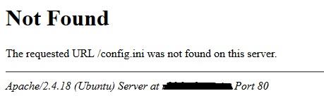 Firmas servidor Apache