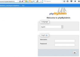 Cómo cambiar la URL de inicio de sesión de phpMyAdmin