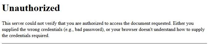 phpMyAdmin acceso no autorizado