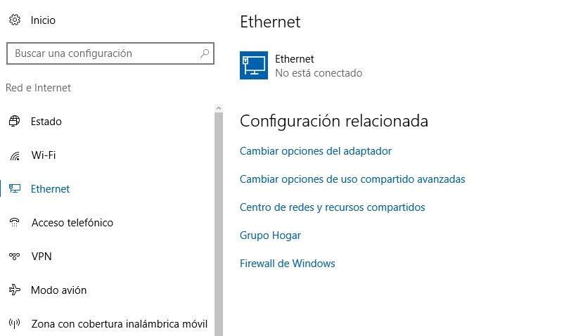 Conexión de uso de medido - Windows 10