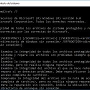 Reparar archivos corruptos - Windows 10