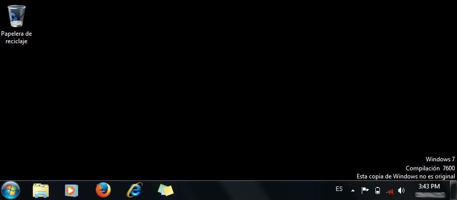 Windows 7 no original