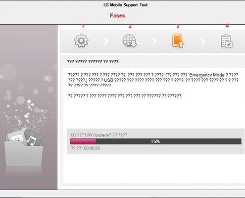 LG Flash Tool - Actualización de firmware