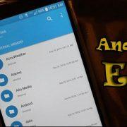 Carpeta EFS Android