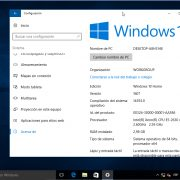 Actualización de aniversario de Windows 10