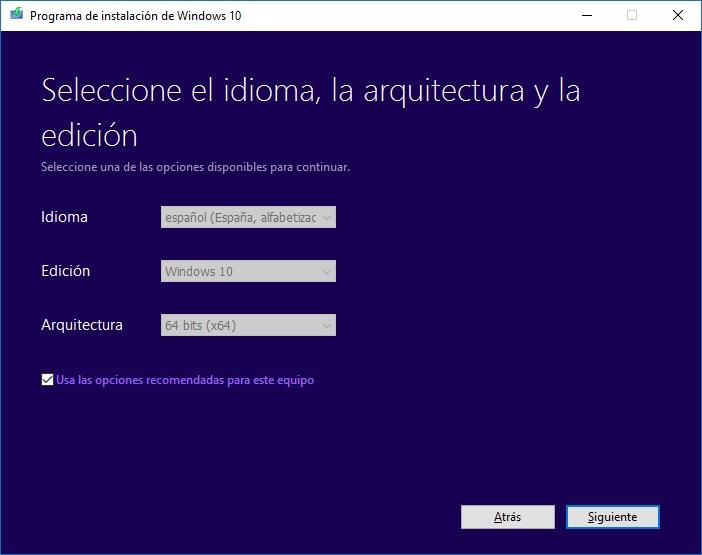 Windows10 - Herramienta creación medios paso2