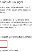 Actualizaciones punto a punto - Windows 10