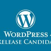 WordPress 4.8 RC