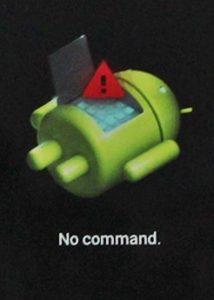 No command