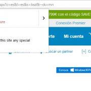 Sitio Web marcado como no seguro por Firefox