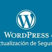 WordPress 4.9.2 actualización de seguridad y mantenimiento