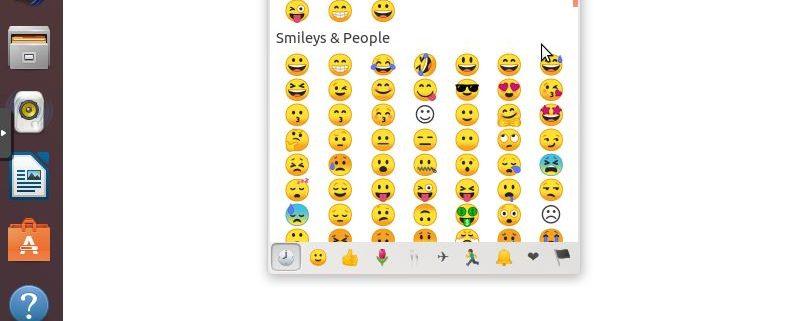 Insertando emoji en Gedit Ubuntu 18.04